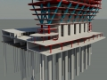 150 N Riverside_MKA_Revit with Caissons