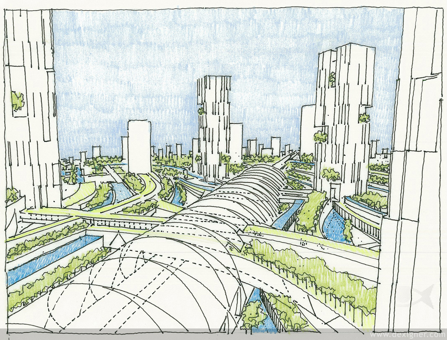 Dreaming the ideal city informed infrastructure Green plans