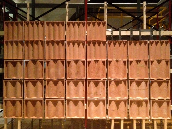 fired clay tile frames