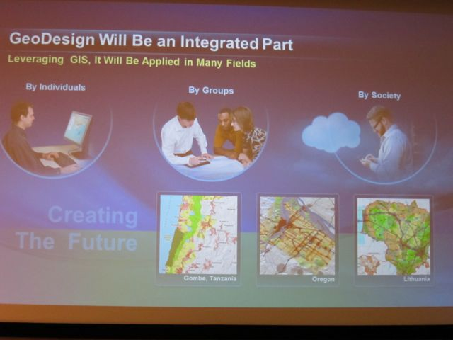 Geodesign will become integral to all Esri's software engineering efforts.