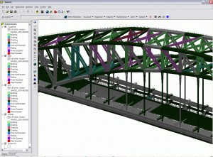 Cutting-edge 3D mapping technology enables maintenance crews to 'fly through' the Sydney Harbour Bridge's thousands of different structural components.