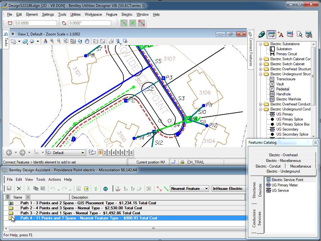 Bentley Utilities Designer Streamlines the Design and ...