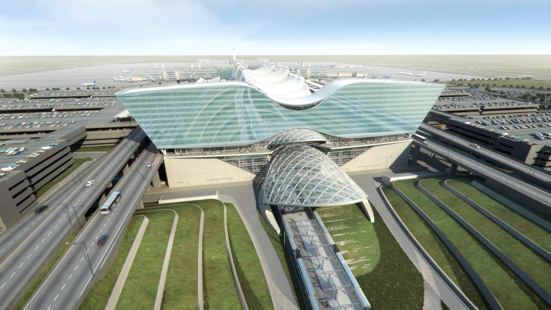 Create House Floor Plans Denver S Airport Expansion Primes A Push Toward Bim For