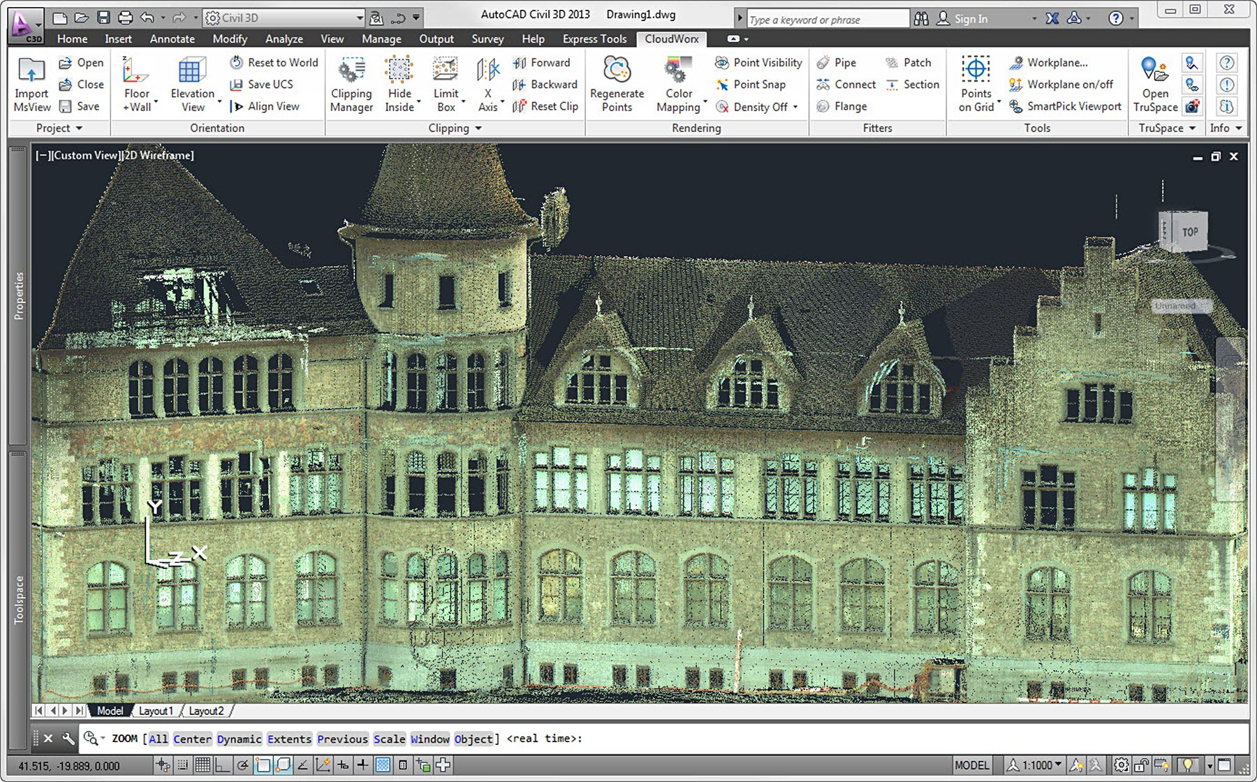 Leica Updates Cloudworx Plug Ins For Working With Point Clouds In Piping Layout Autocad 3ds Max And Pdms