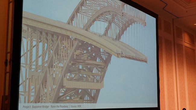 This detailed model from HDR of the BAyonne Bridge illustrates the level of detail and real-world context of today's modeling technology.