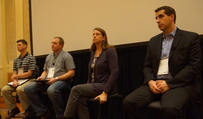The BIM Best Practices Panel included from left to right,