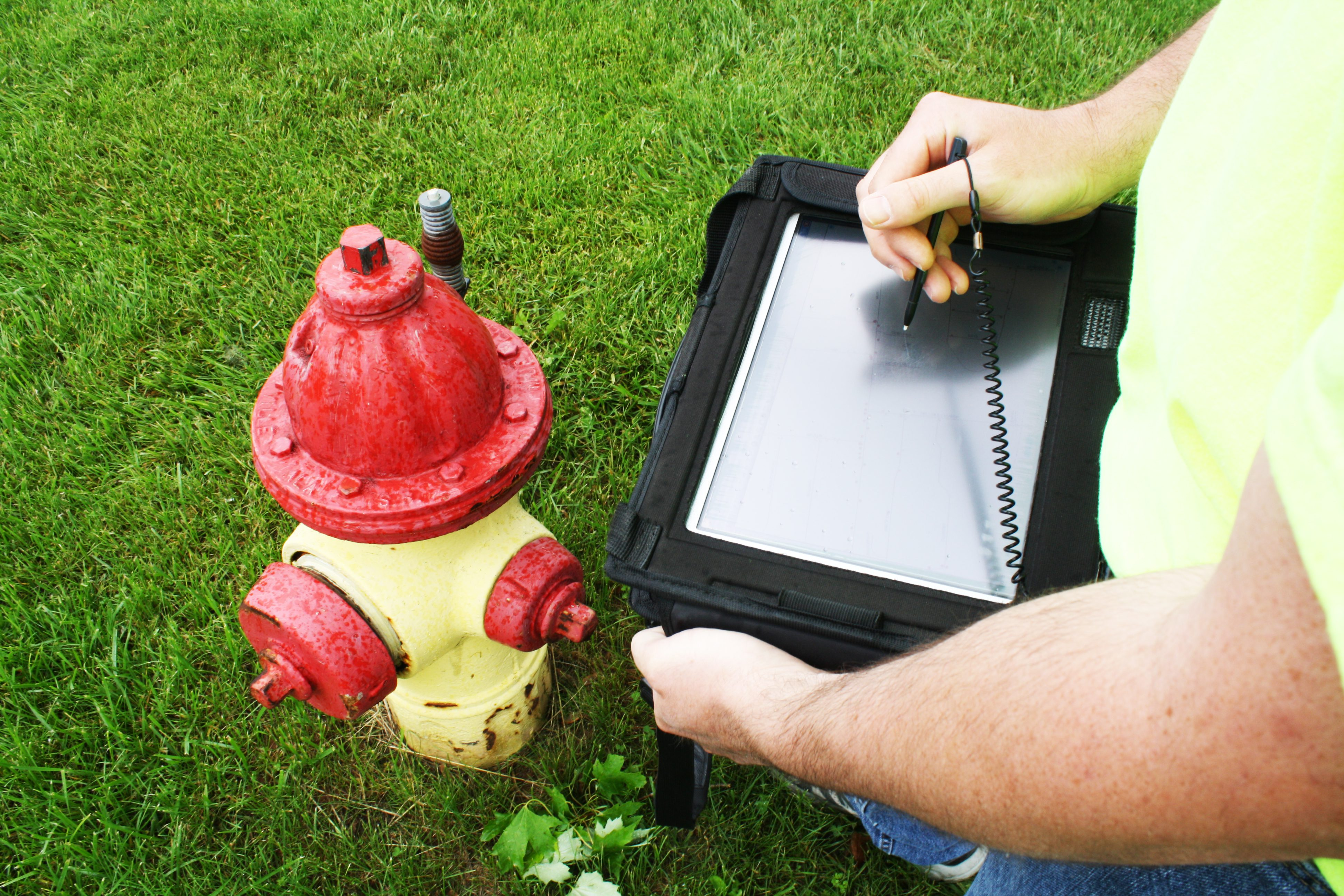Utilizing mobile solutions and enhancing the data stored in the asset management system.