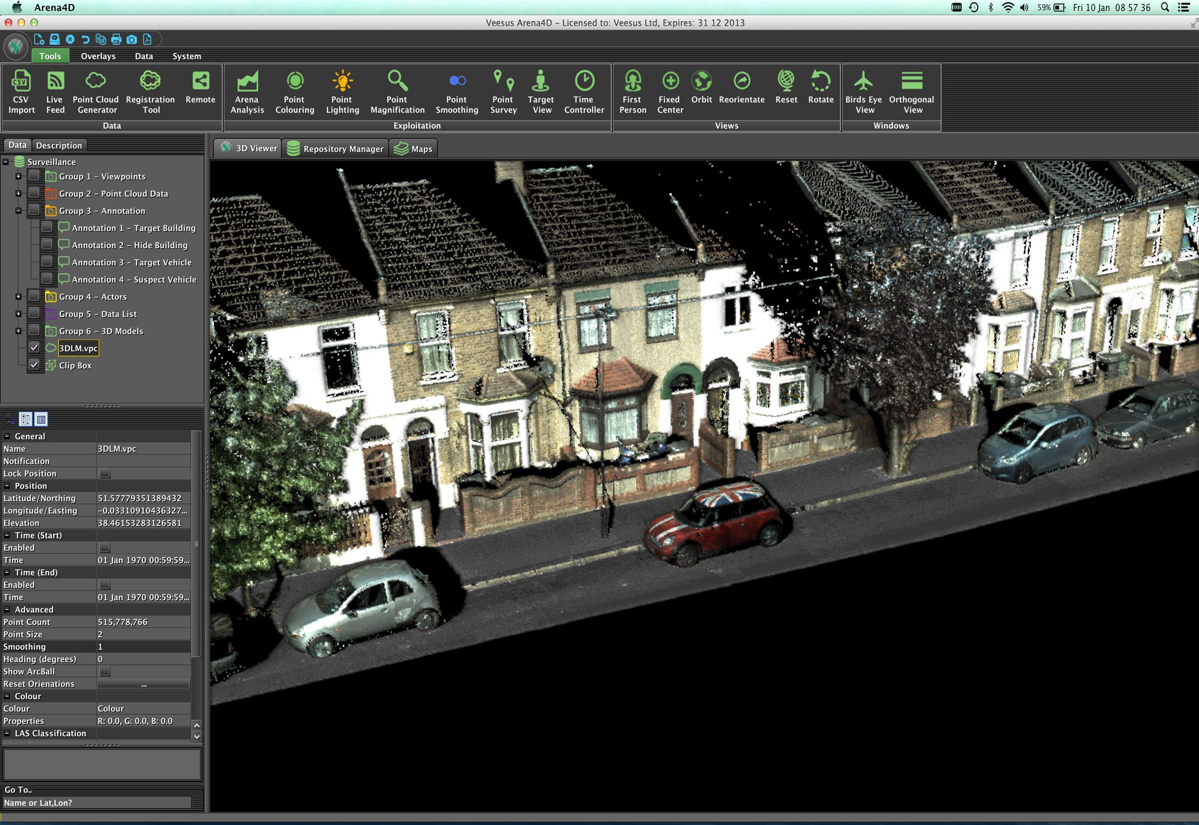 D Laser Mapping Offers Innovative Visualisation Software Informed - 3d mapping software