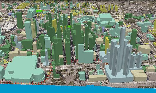 Sanborn Refreshes 3-D Digital Maps Of Four Major U.S. Cities