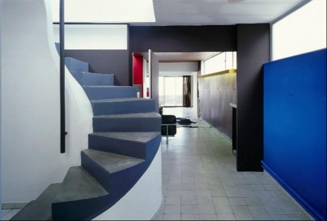 Le Corbusier and Pierre Jeanneret, Immeuble Molitor, 24 rue Nungesser et Coli, Le Corbusier apartment, Paris, 1931-34. Photo: Olivier Martin-Gambier 2005