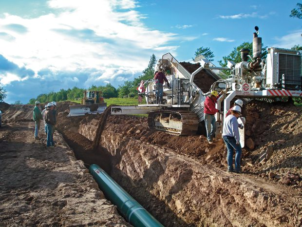 Natural Gas Pipeline Installation : Plans come together on mile 'atlantic coast pipeline