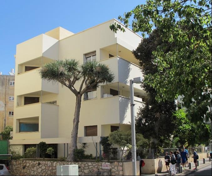 Max Liebling House exterior, Tel Aviv. Photo: G.Lindlar