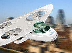 An envisioned Personal Aerial Vehicle (artists' impression)