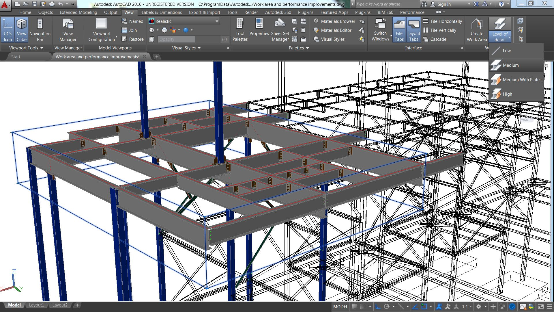 Autodesk Previews Advance Steel 2016 At Nascc Informed