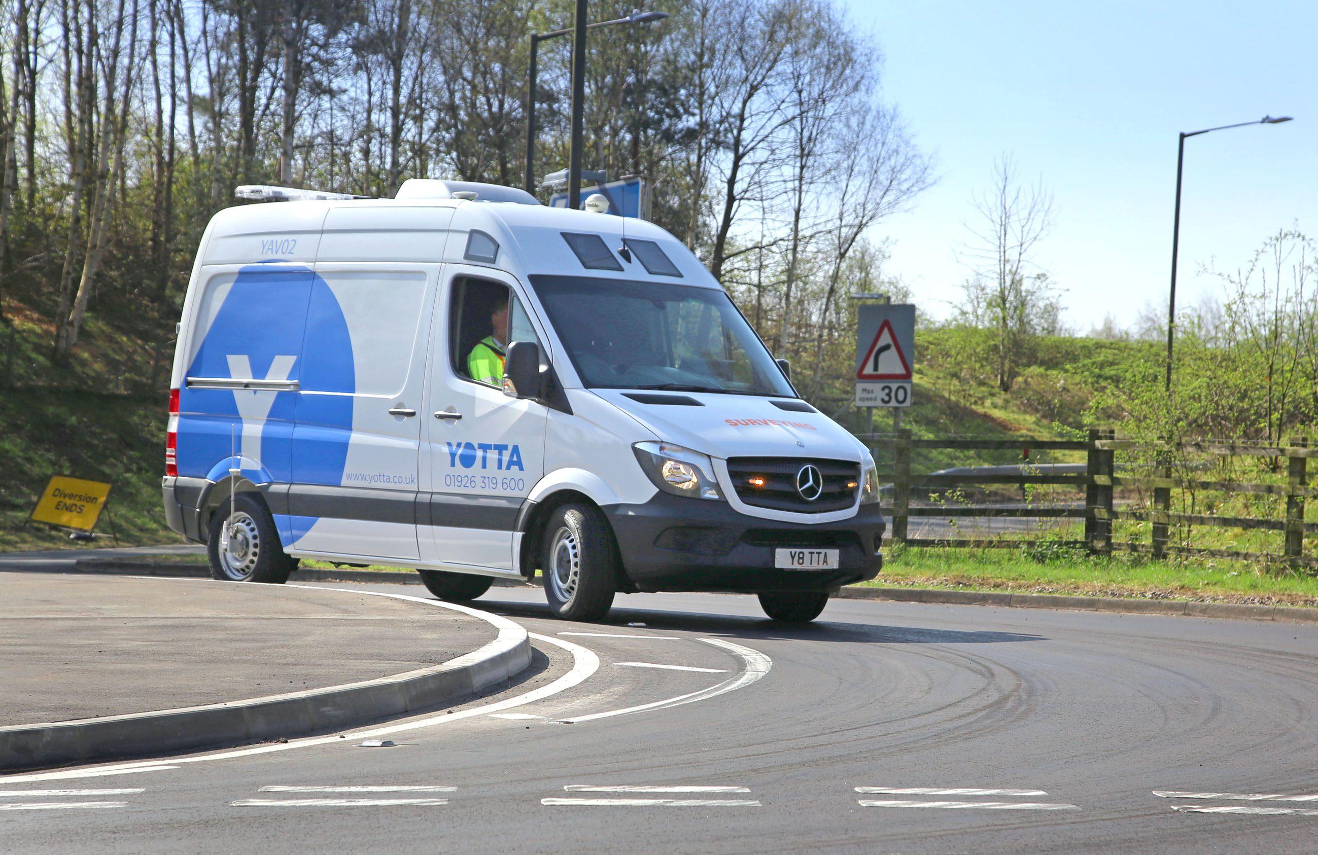 Yotta Launches its Latest Video Survey Vehicle