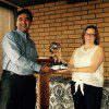 Amar Nayegandhi accepted the LCDR Peter Johnson Best Practices Award