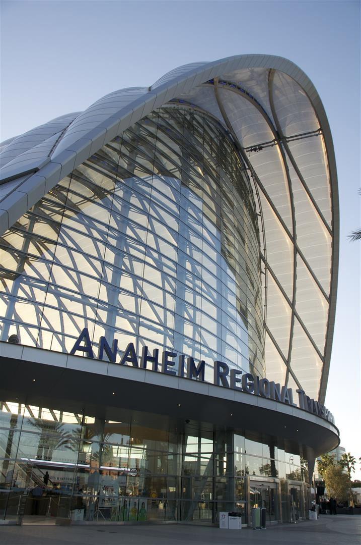 National Award: Anaheim Regional Transportation Intermodal Center, Anaheim, Calif.;Credit: Thornton Tomasetti