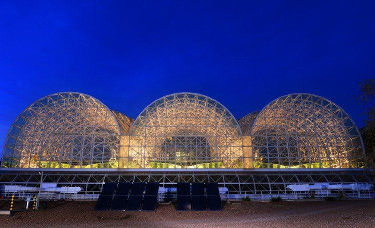 Merit Award: Landscape Evolution Observatory at Biosphere 2, Oracle, Ariz.;Credit: Erik Hinote