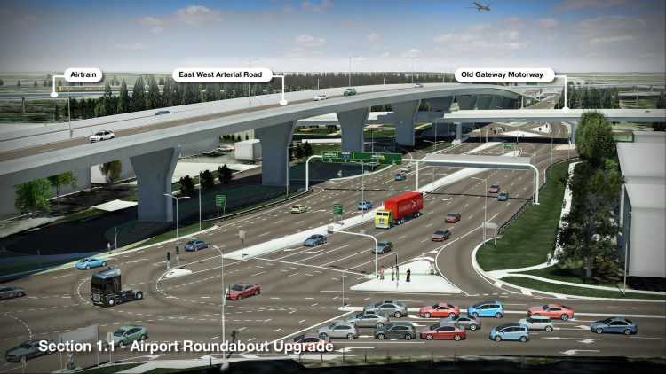 PBA_Airport Link_Section 1_Image E_ Airport Roundabout Upgrade