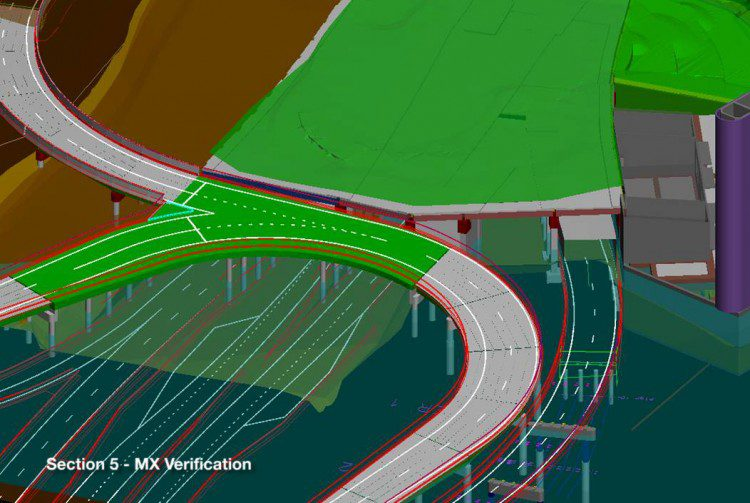 3-D models made it easier to check clearances for tunnel structures.
