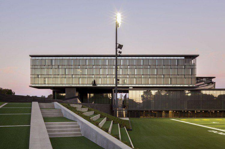 Merit Award: University of Oregon Hatfield-Dowlin Football Performance Center, Eugene, Ore.;Credit: Jeremy Bittermann