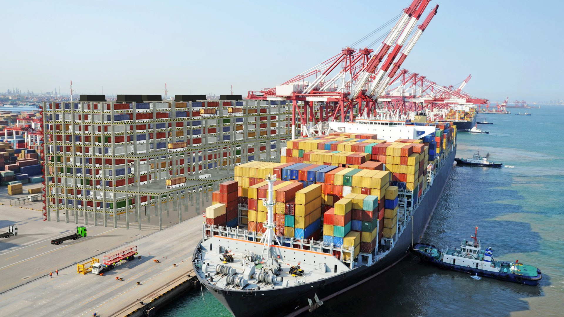 IAI Introduces an Innovative Robotic Shipping Container Storage