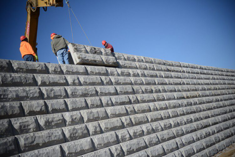Specification Section Retaining Walls Models And