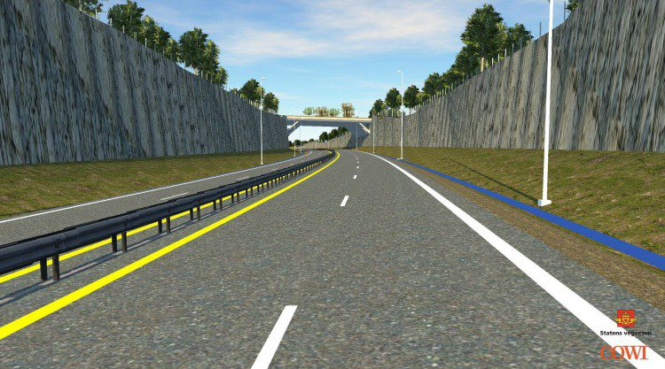 Creating preliminary designs for roads and bridges in context of existing conditions helps improve and speed decisions. CREDIT: COWI Norway / Norwegian Public Road Administration