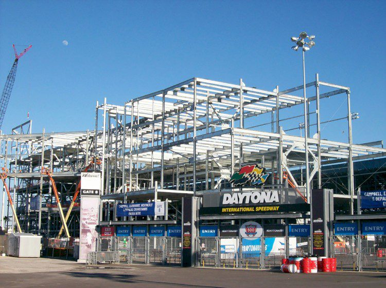 Daytona Rising, Daytona International Speedway, Daytona, Fla.