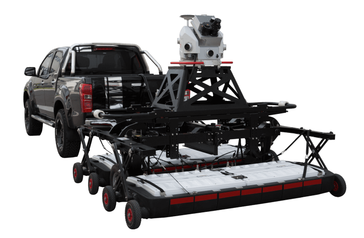The Leica Pegasus:Stream combines LiDAR collection of aboveground features with ground-penetrating radar for a detailed 3D model that's easily imported into CAD, BIM or GIS to visualize, inform design and record conditions.