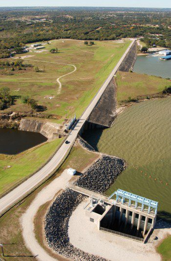 The Eagle Mountain Lake dam is one of many in North Texas that has experienced an increase in seismic activity that it was not designed for.