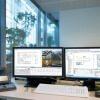Siemens stellt die neue Version der Gebäudemanagementplattform Desigo CC auf der Messe light+building vor.  Siemens to introduce new version of its Desigo CC building management platform at light+building.
