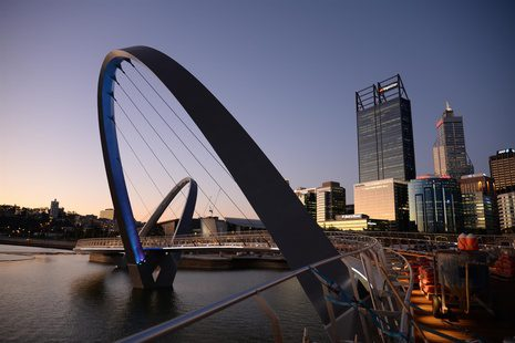 Arup Completes Elizabeth Quay Pedestrian Bridge In Perth