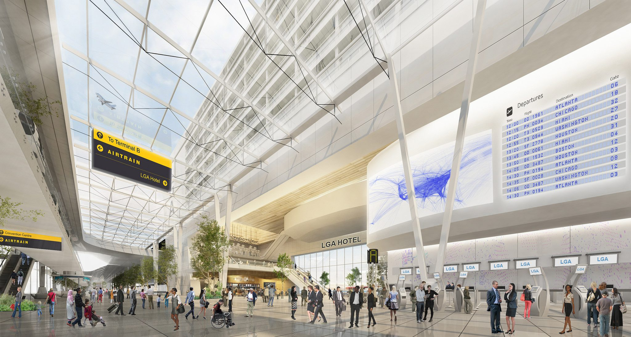 Major Modernization Projects for LaGuardia and Newark Airports