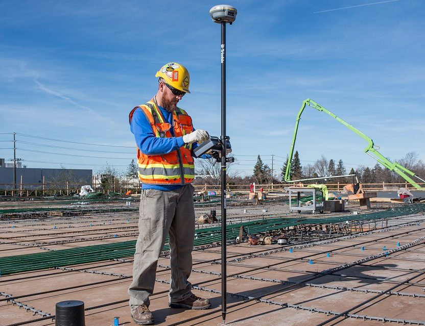 Trimble Adds GNSS Positioning to its Field Link Layout Solution for