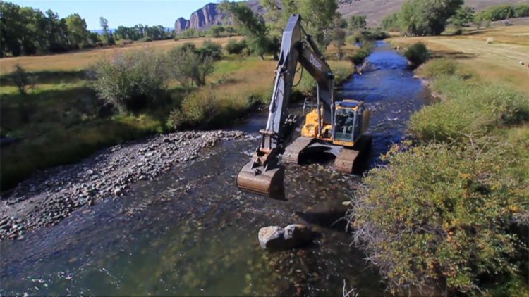 A new stream-restoration database will include monitoring and reporting details on water quality, ecological function and habitat performance of stream-restoration and stabilization projects.