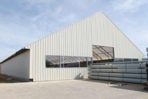 10. Metal Building