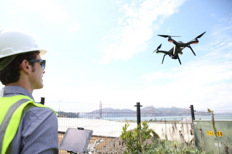 A recent study by PwC indicates that infrastructure is the leading commercial application of drones. CREDIT: 3D Robotics