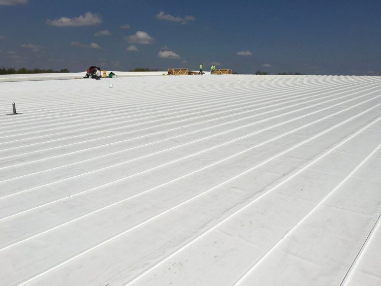 Bade Roofing Completes Installation Of Largest Versiweld