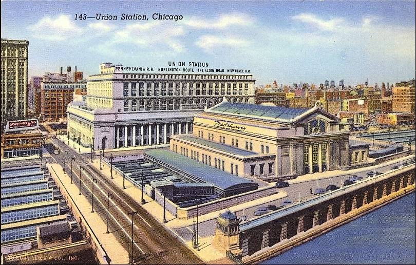 Amtrak Releases RFQ For Master Developer On The Chicago Union - Chicago union station map