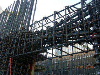 Seismic Response Of Fiber Reinforced Concrete Coupled