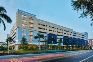 Florida International Parking Garage 6 Tech Station