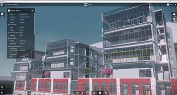 Autodesk LIVE retains critical BIM data from Autodesk Revit models. (Credit: Autodesk)