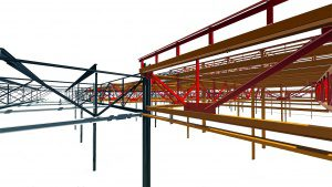A VDC:Steel fabrication-ready model is the first step to a successful project outcome. By including more detail at this early phase, users can eliminate steps later in the process, saving time overall..