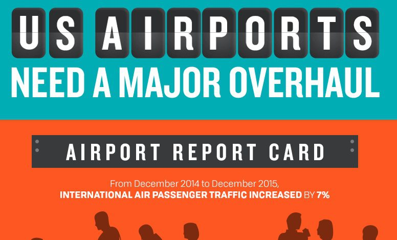 US Airports Need Upgrades Informed Infrastructure