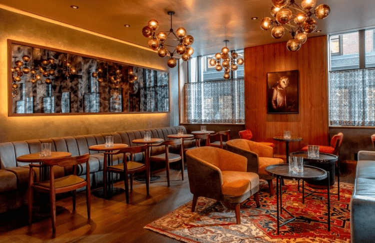 Las Vegas Based Architecture And Design Firm Punch Completes Extensive Makeover Of High End Boston Hotel Lounge