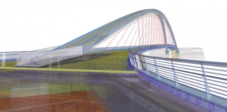 Trimble's Tekla Structures Covers the Complete Bridge Design