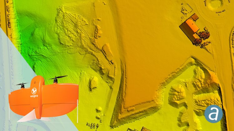SimActive Software Enables Processing of Wingtra Drone Data