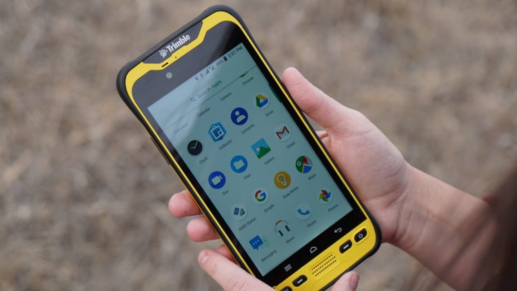 Trimble Releases Next-Generation Integrated Smartphone and