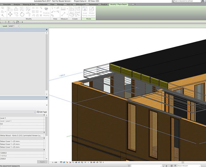 Free Downloadable Open Source Wood 3d Design Objects For Bim And Cad Software Informed Infrastructure